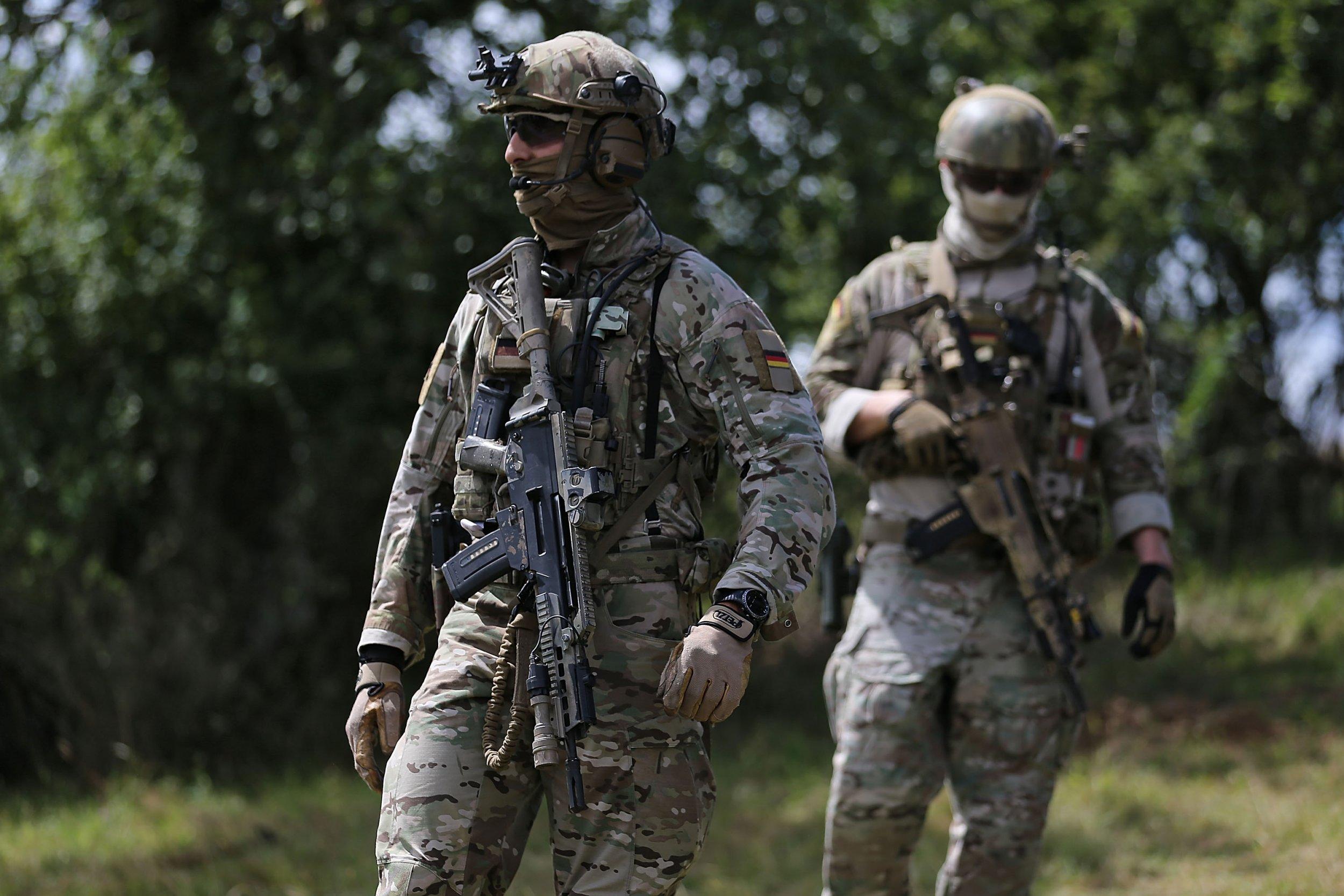 Germany's elite KSK soldiers