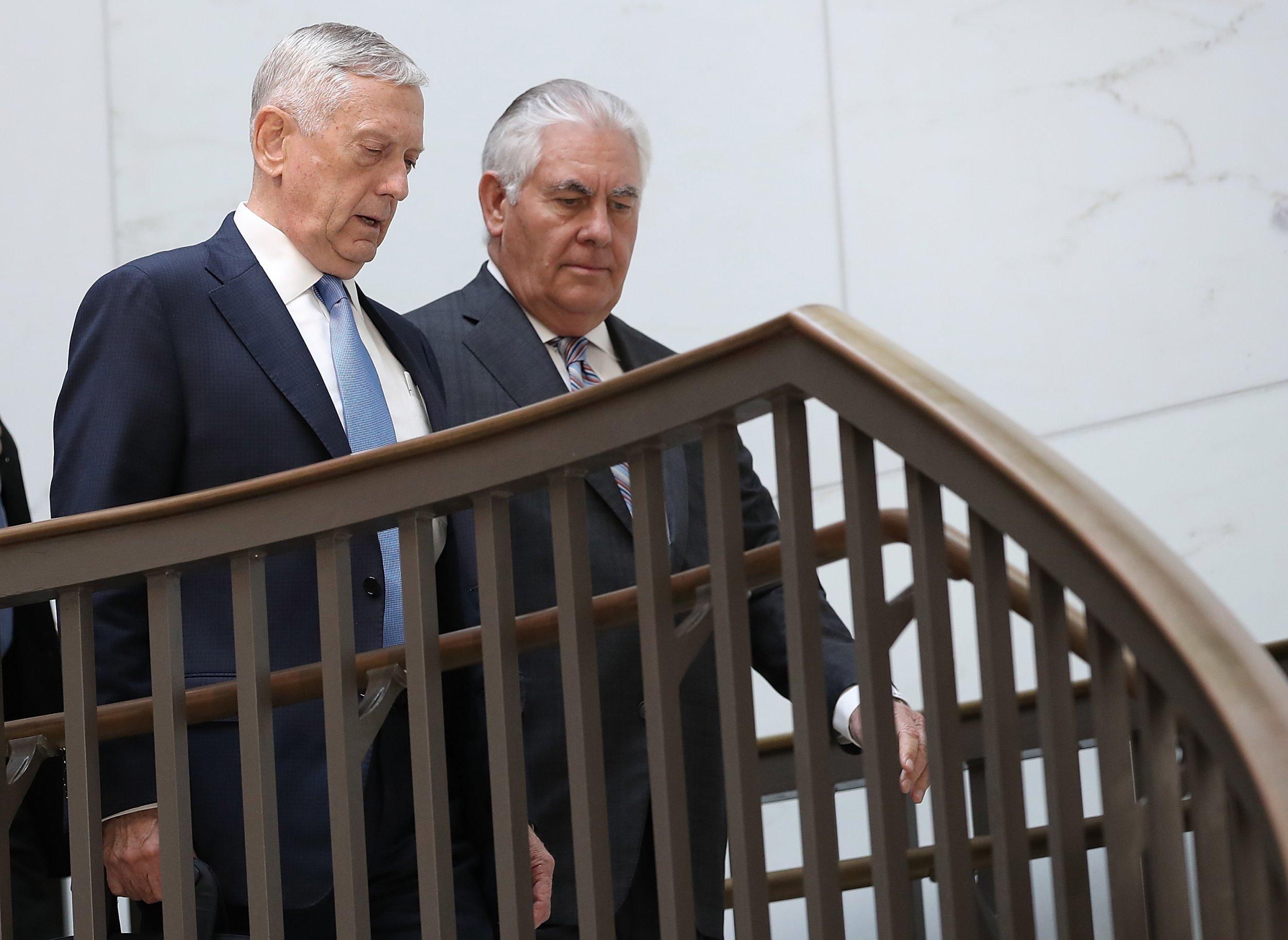 Mattis and Tillerson