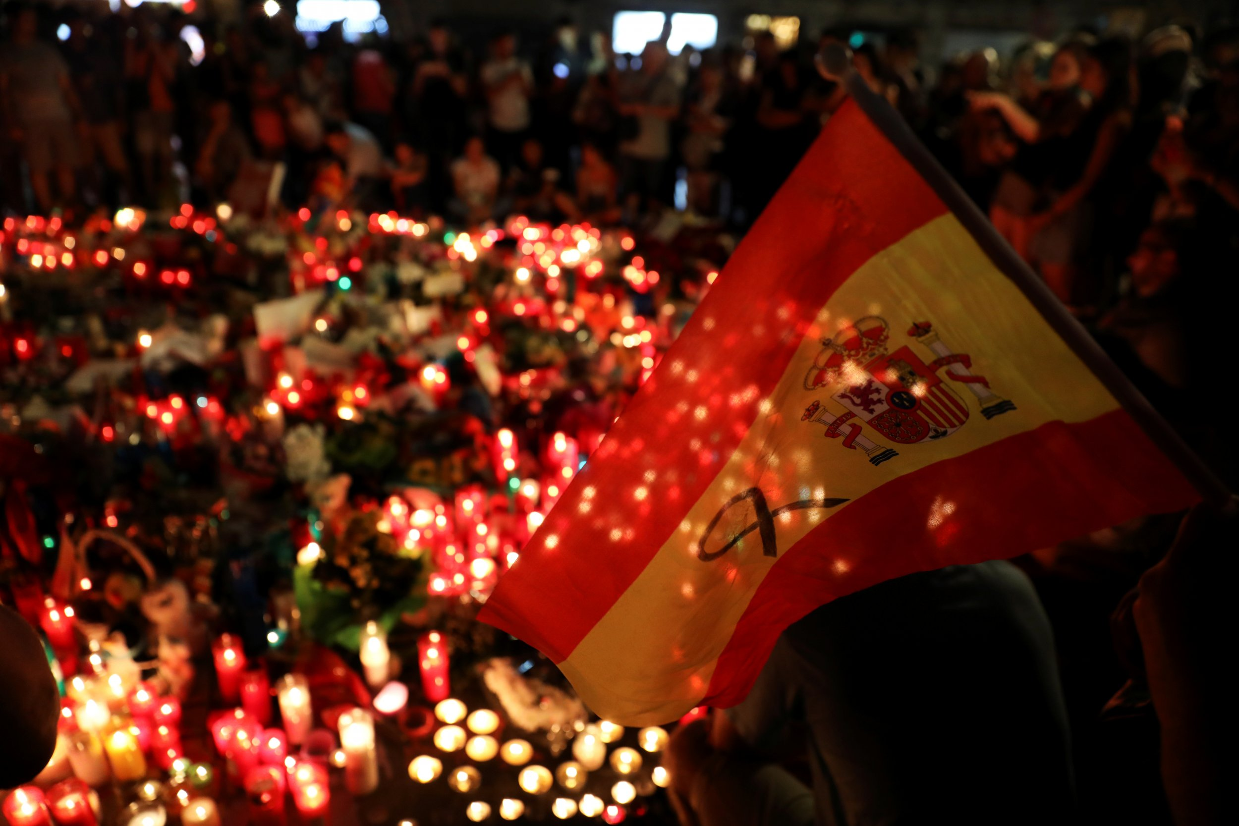 Barcelona Attack Memorial