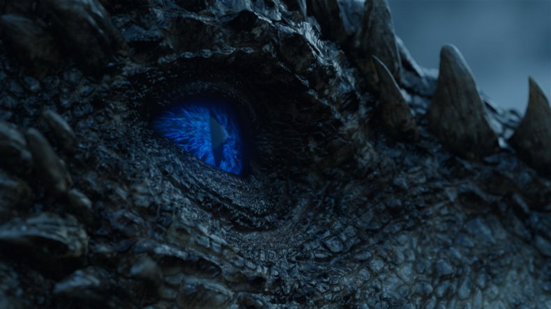 Viserion - Game of Thrones - ice dragon