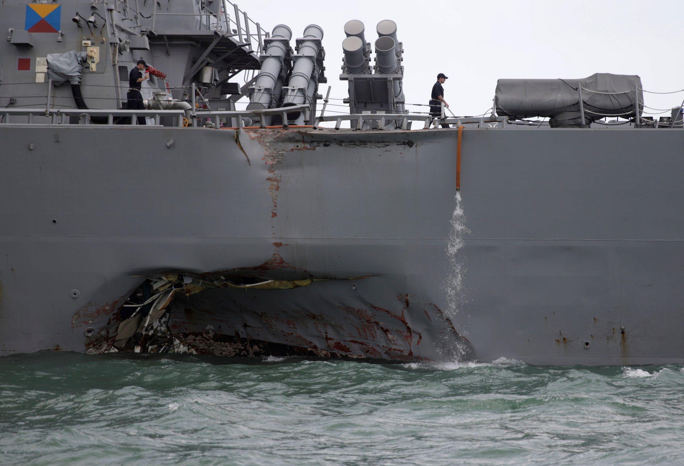 USS John McCain smaller