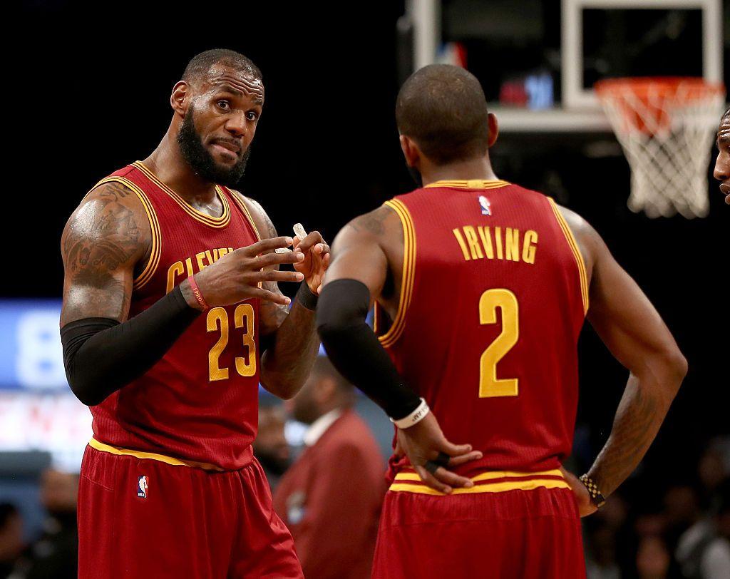 af6ae43b51e NBA  LeBron James Misunderstanding Led to Kyrie Irving s Trade ...