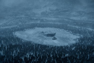 Game of Thrones - Beyond the Wall - frozen lake