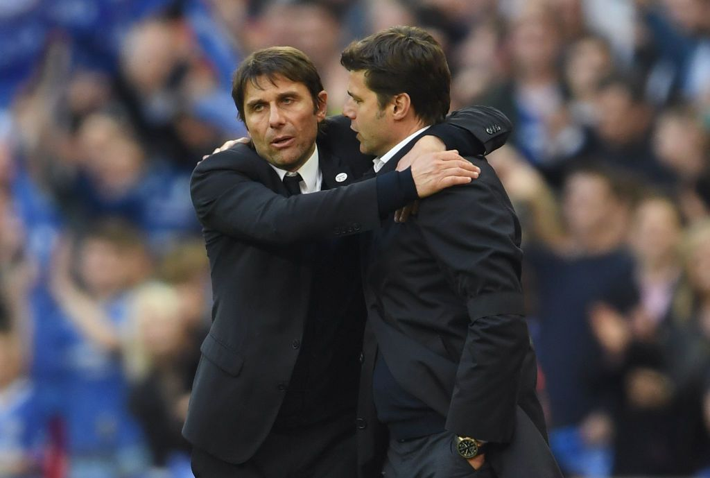 Conte and Pochettino