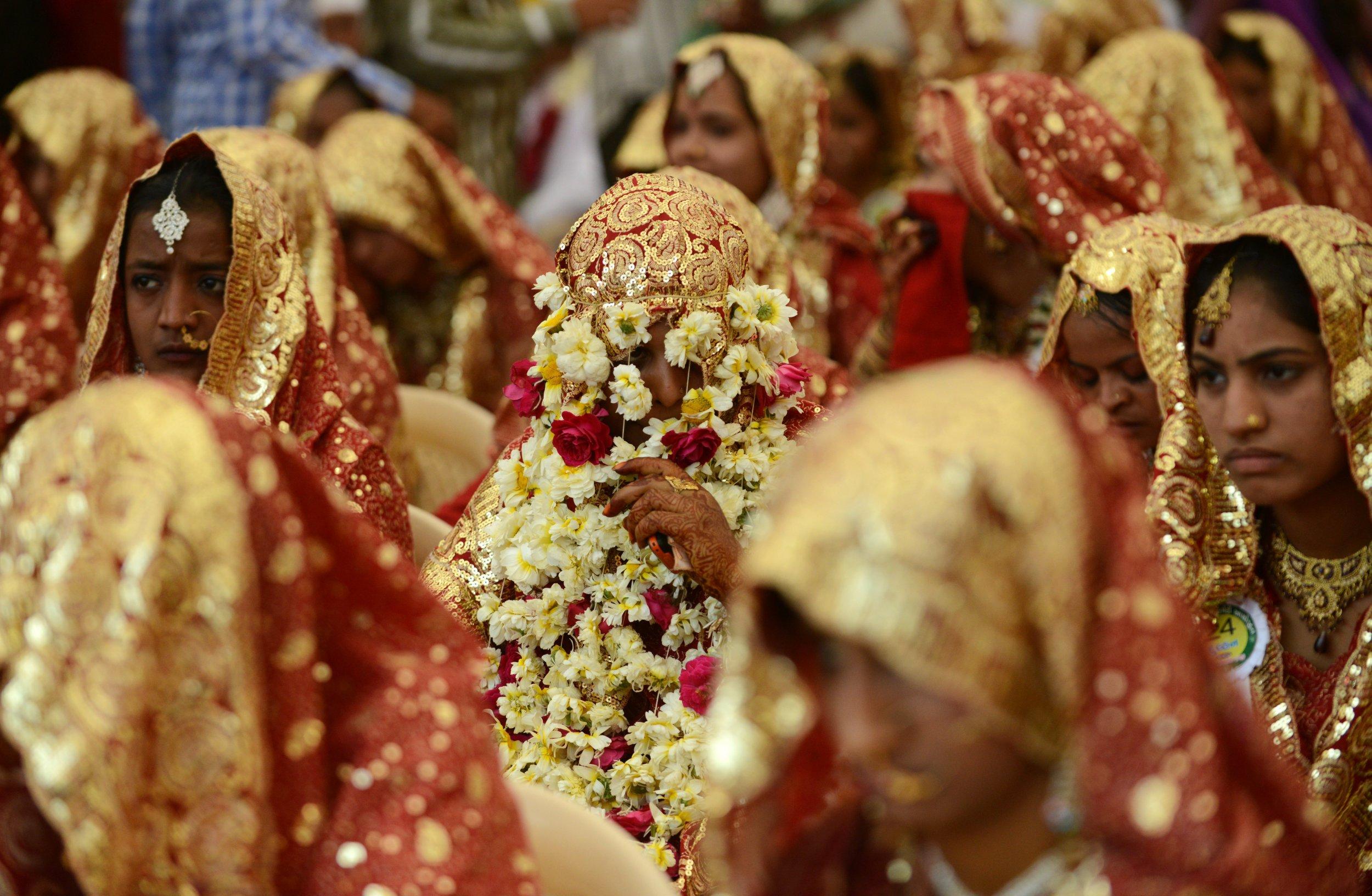 India Muslim bride