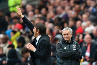 Conte and Mourinho