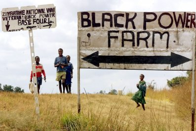 Zimbabwe land reform