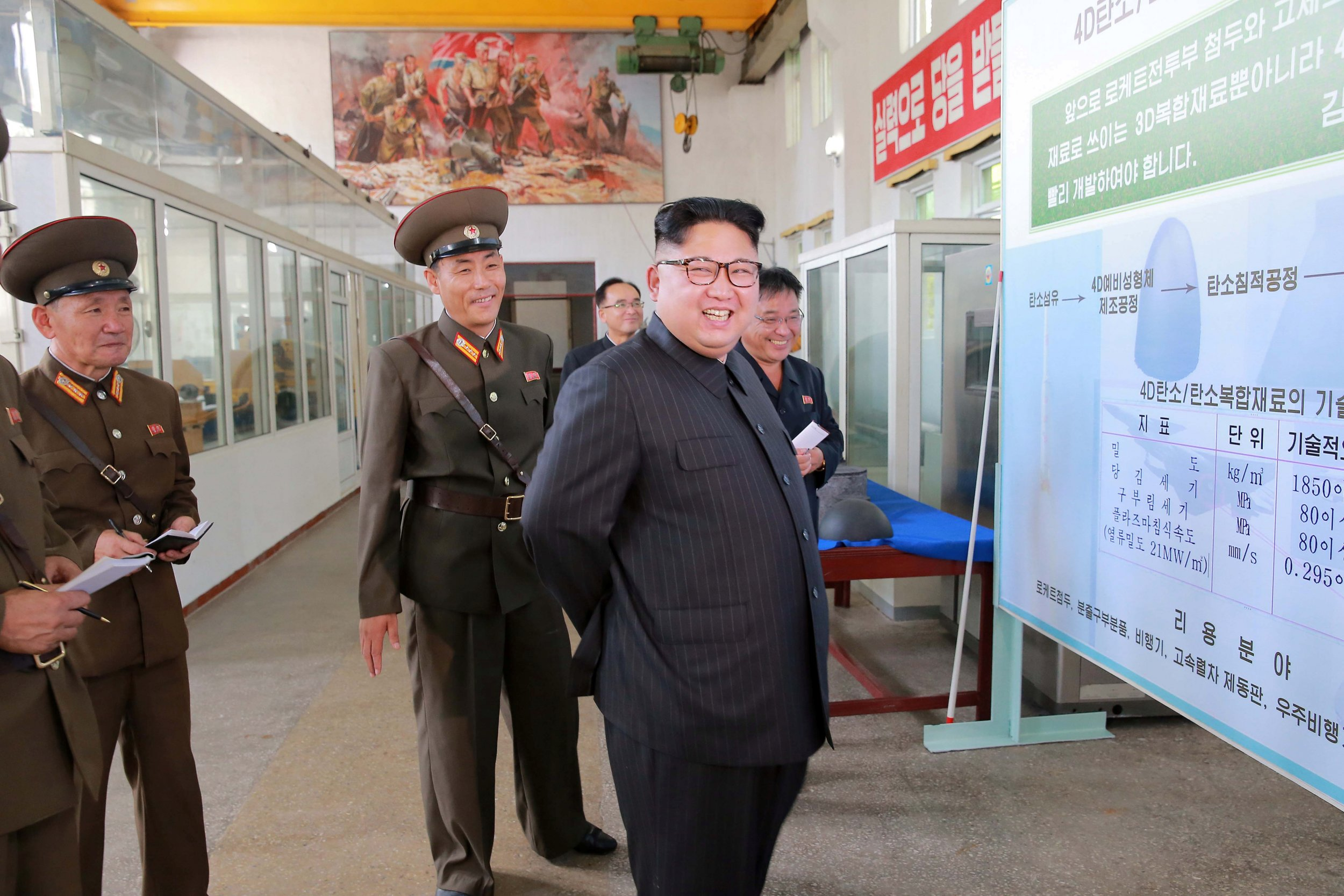 Kim Jong Un wants his country to produce more warheads