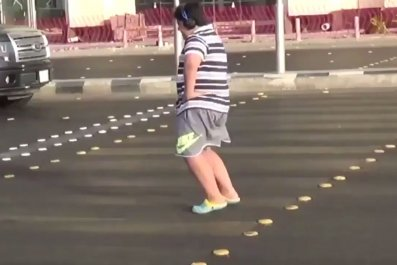 Jeddah dancing boy
