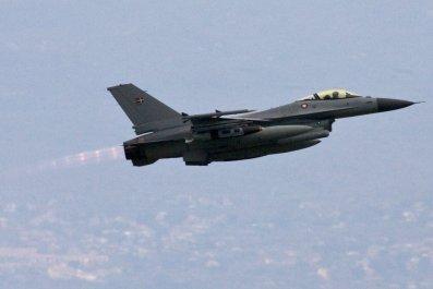 Danish F-16 jet
