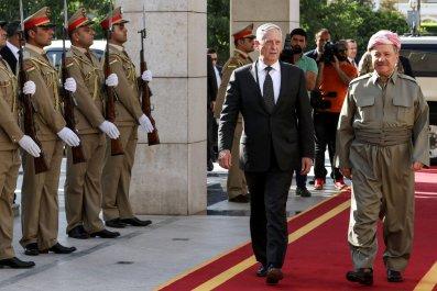 Massoud Barzani and Mattis