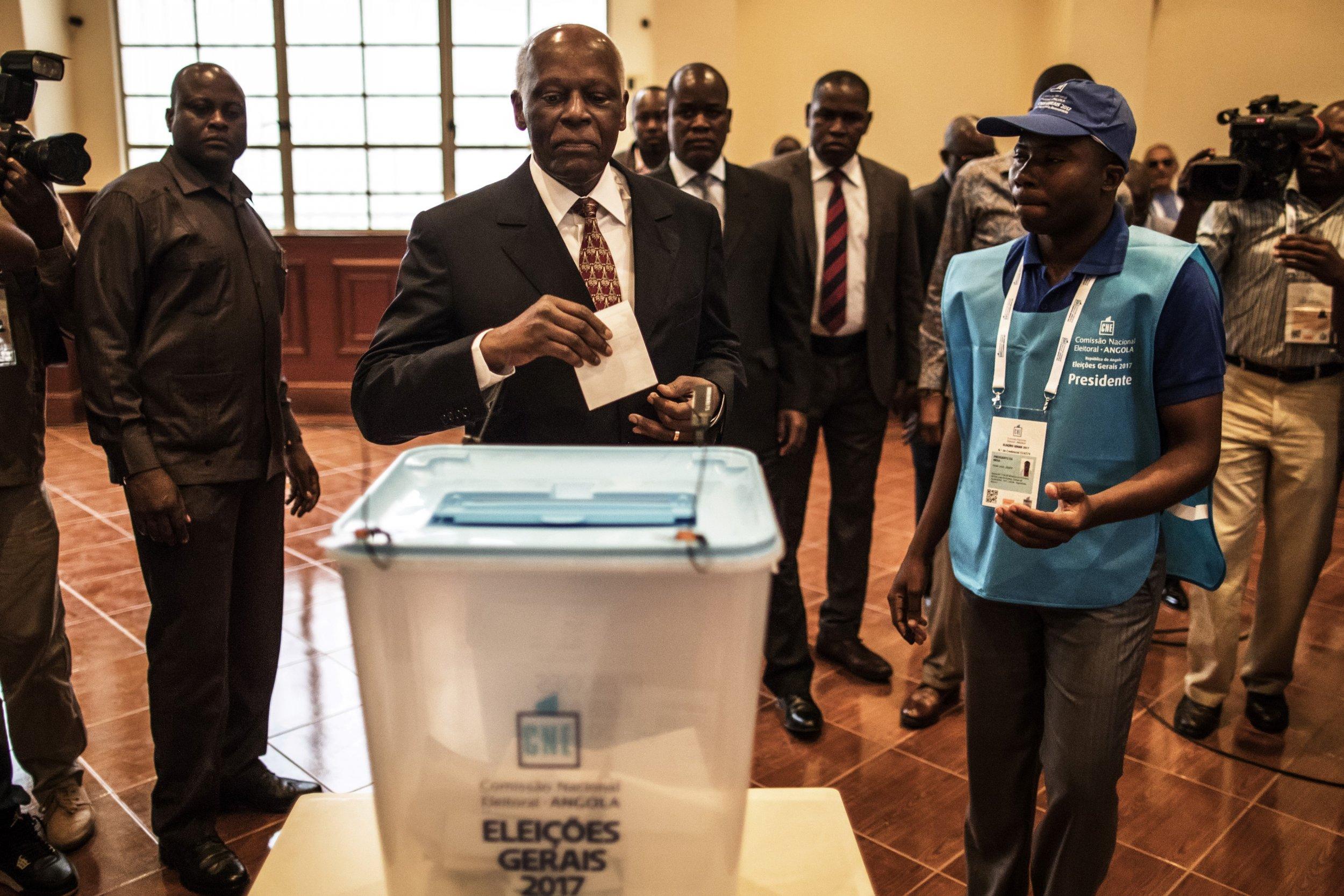 Angola president voting