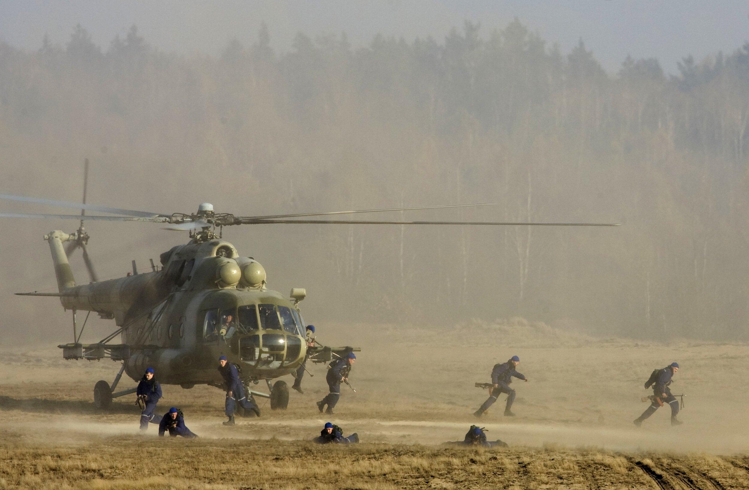 Belarusian troops