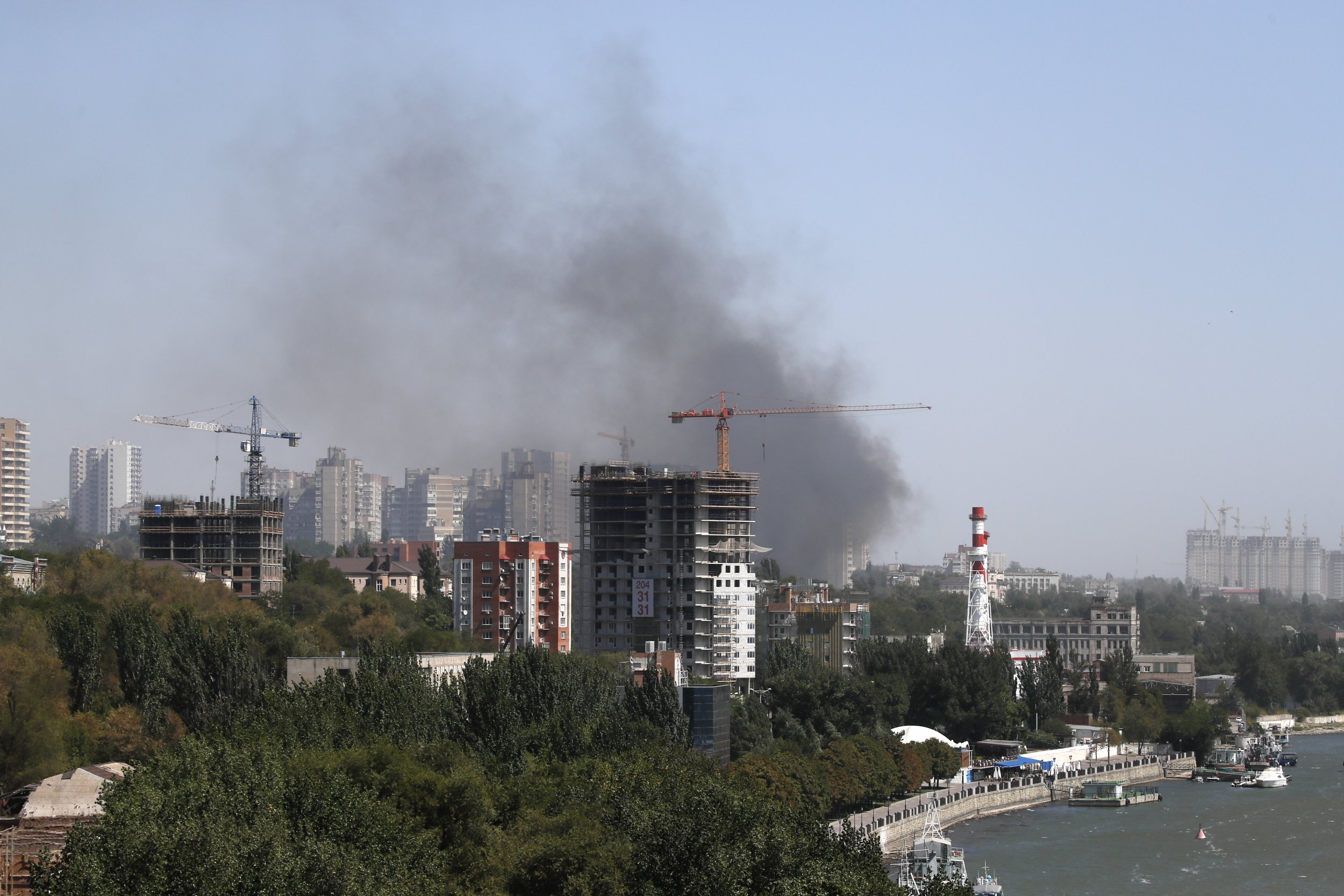 Rostov fire