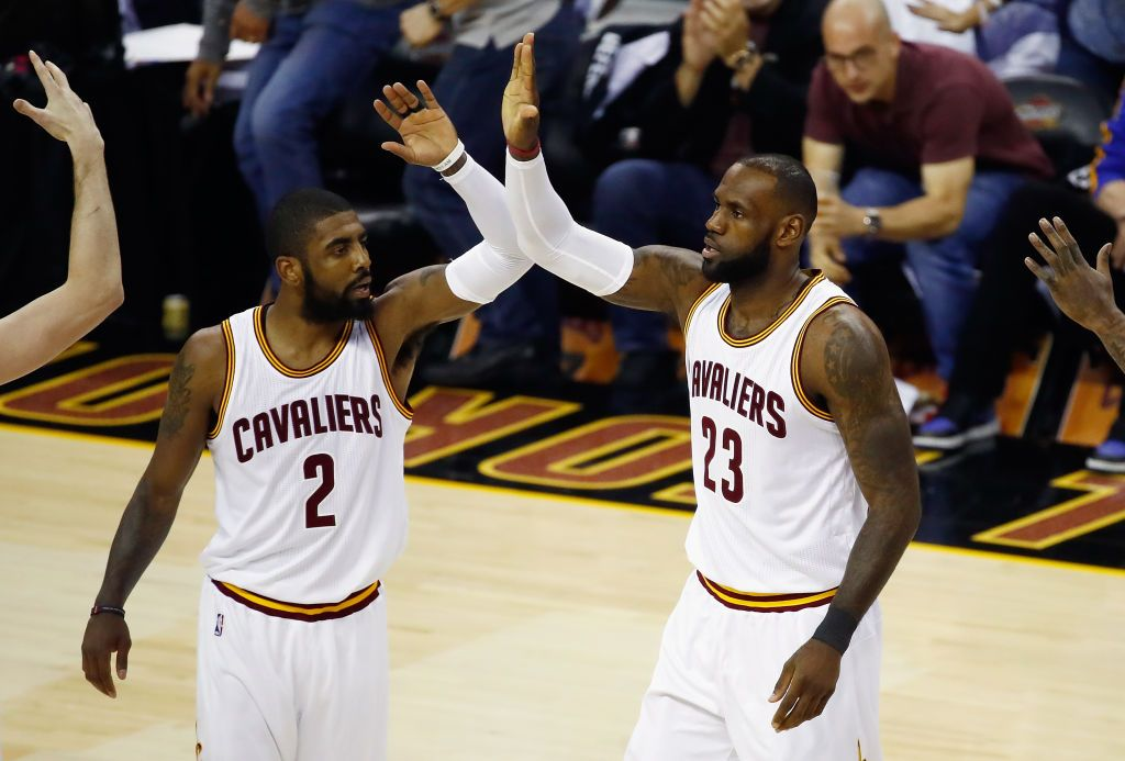 6961a6c6f After Kyrie Irving Trade, LeBron James Urges Cavs Fans to Say ...