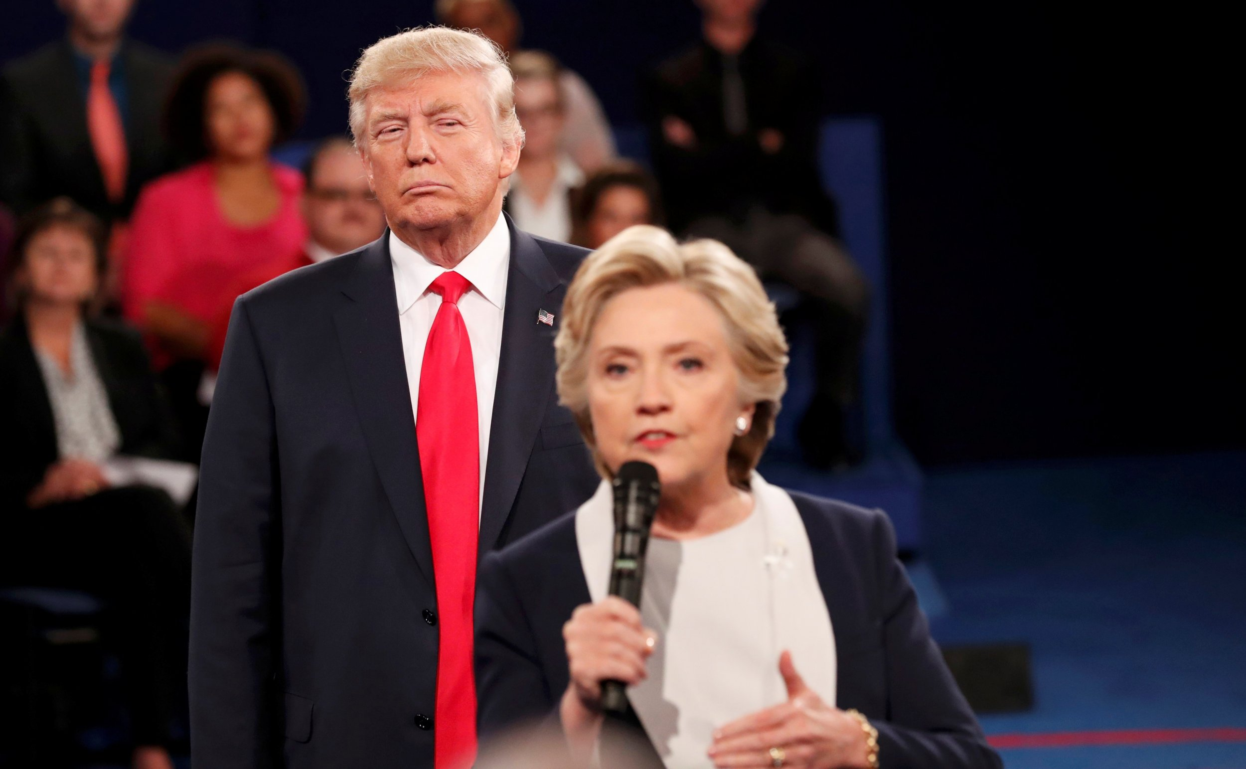 Trump Clinton St Louis debate