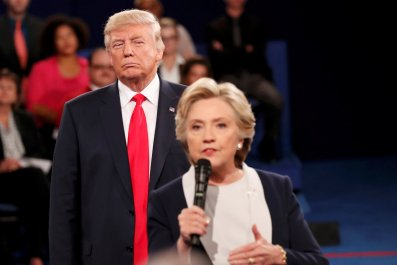 Trump Clinton St Louis debate