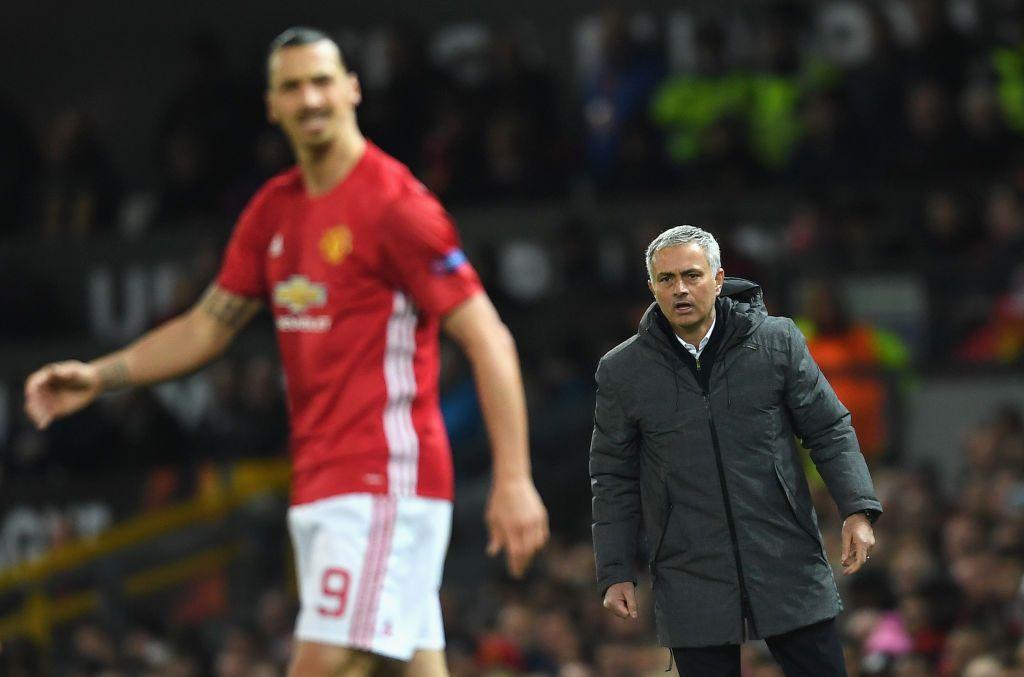 Ibrahimovic and Mourinho