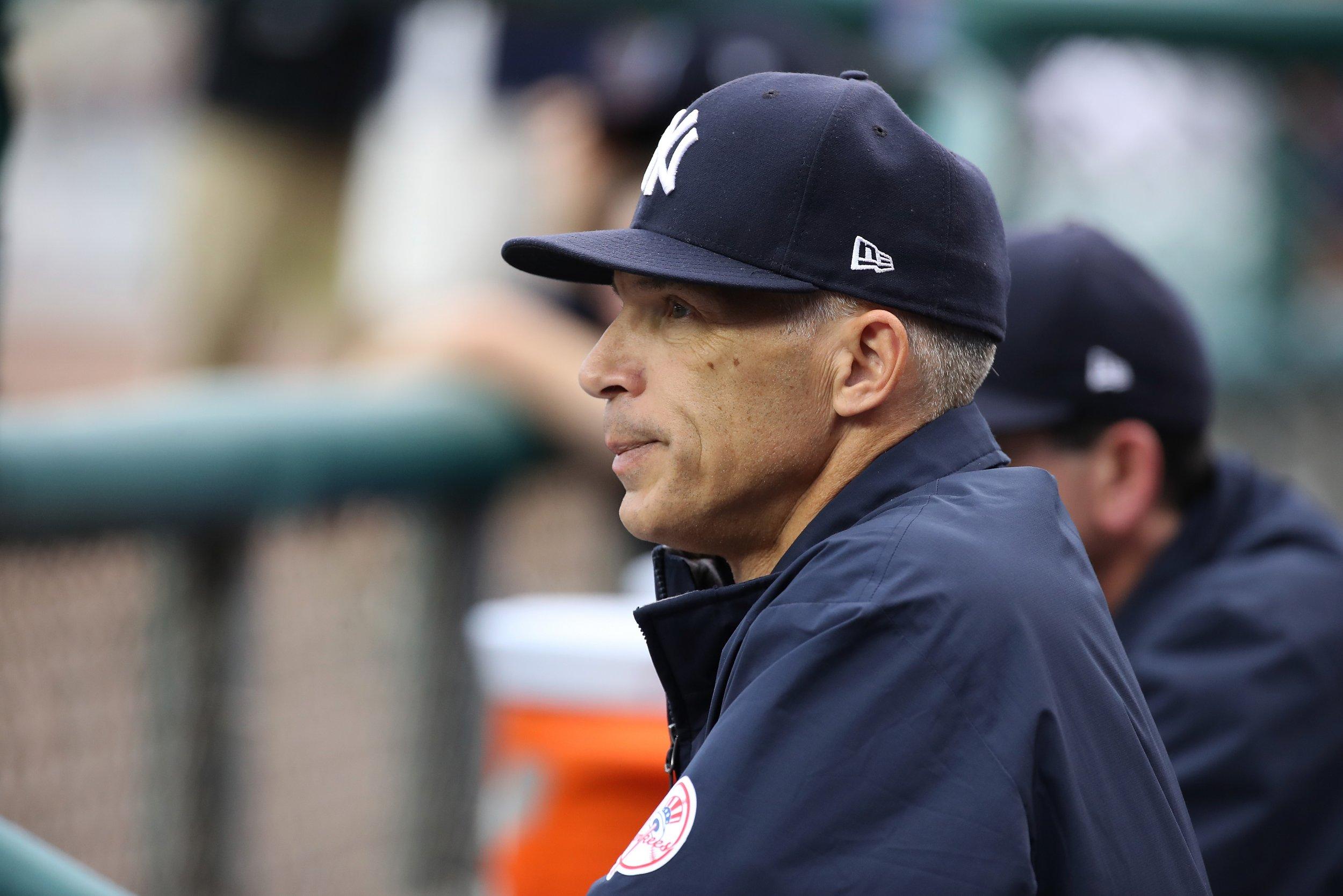 New York Yankees manager Joe Girardi.