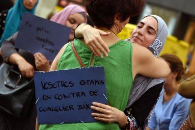 Muslim woman Barcelona
