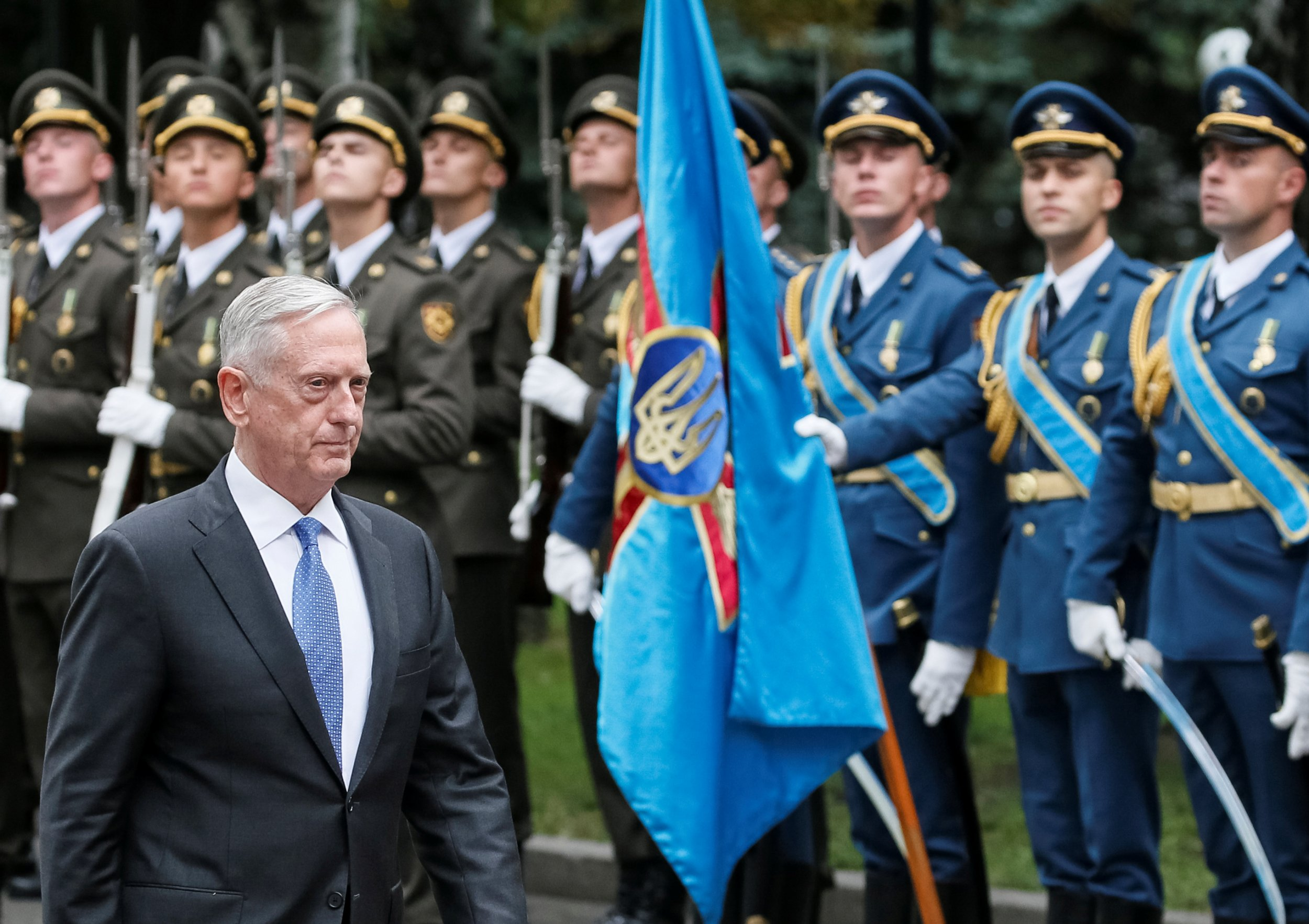James Mattis Russia Wants to Redraw Map of Europe By Force