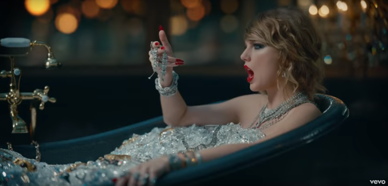 taylor swifts quotlook what you made me doquot music video is