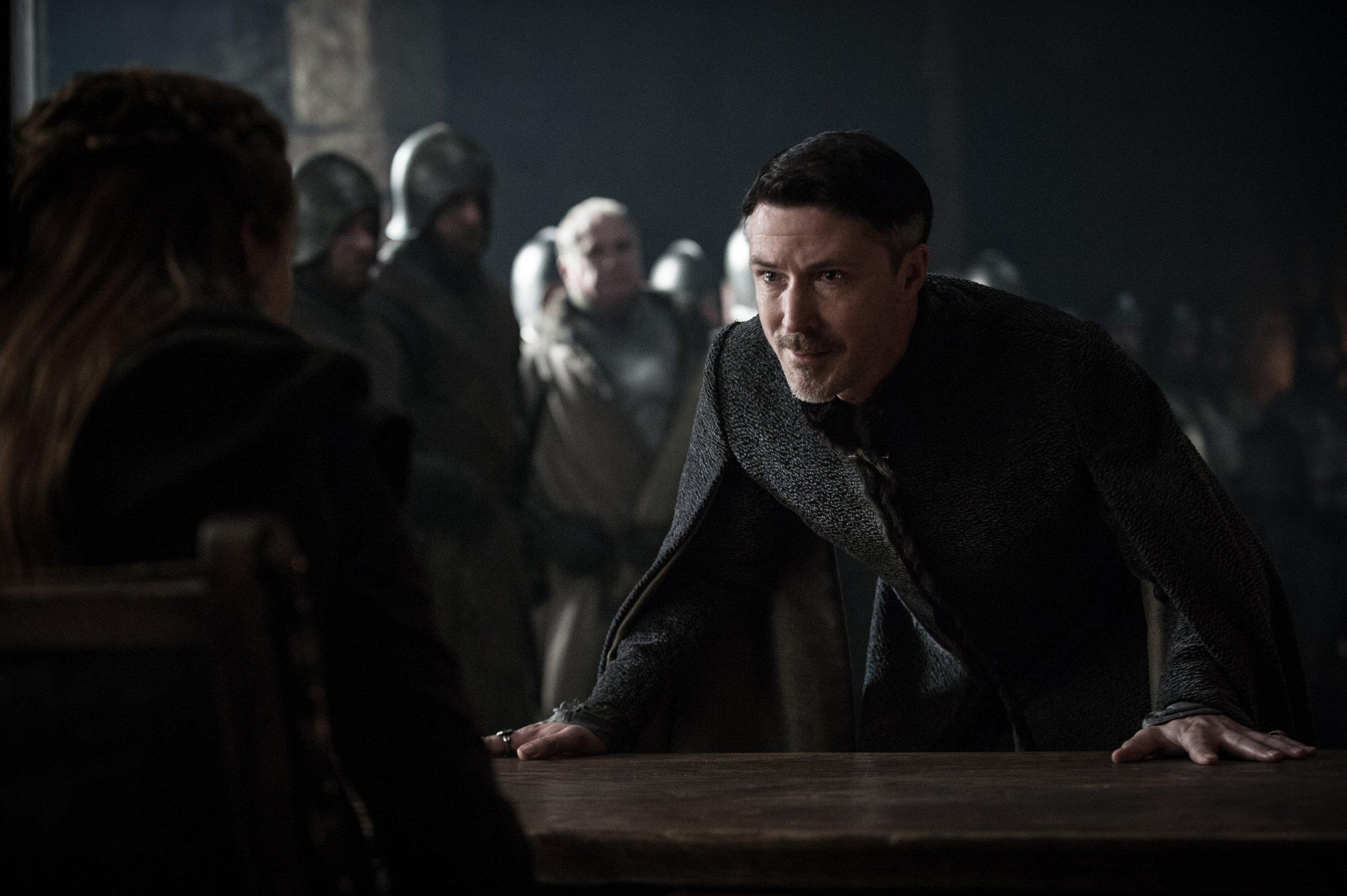 Littlefinger dies on Game of Thrones