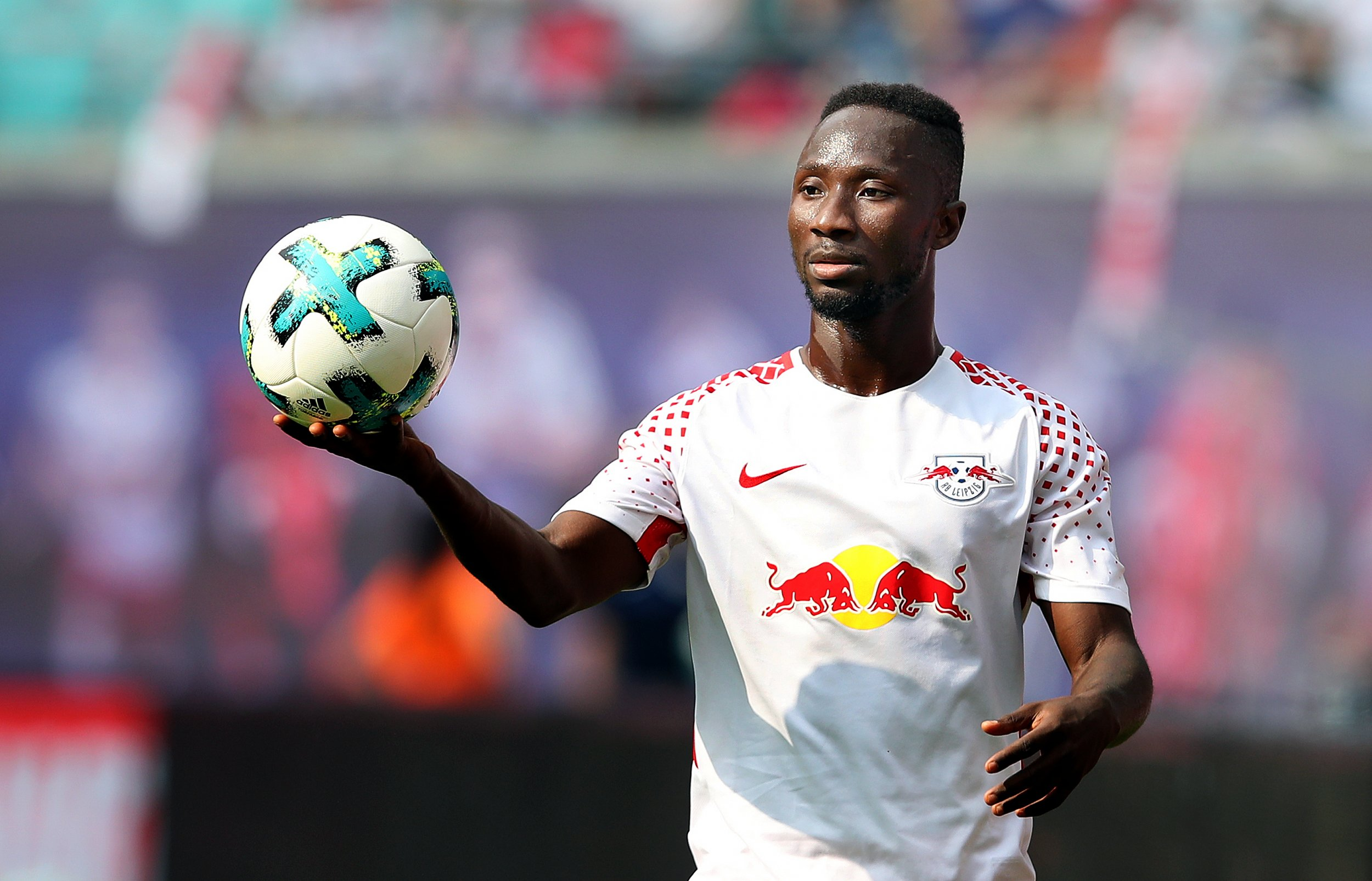 Liverpool and former RB Leipzig midfielder Naby Keita.