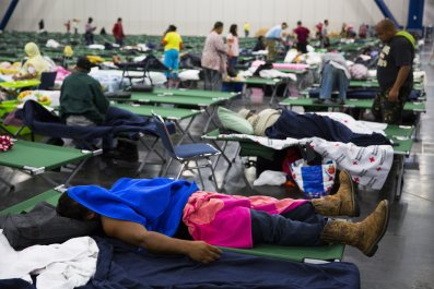 Hurricane Harvey shelter