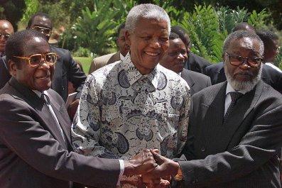 Mugabe Mandela Nujoma