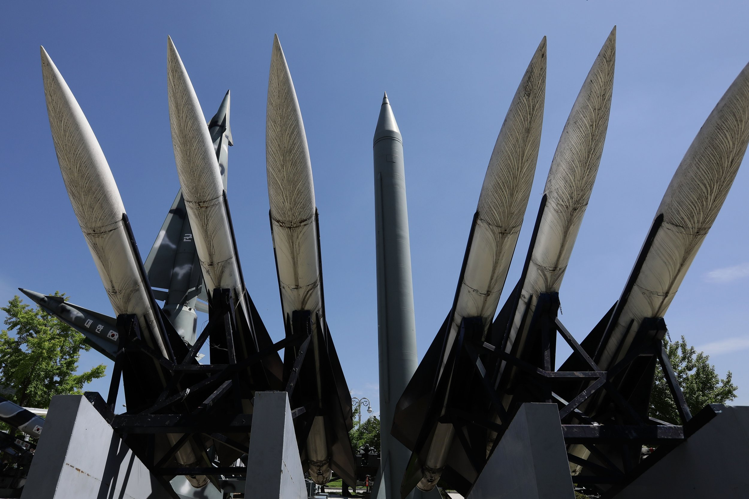 Scud-B missile