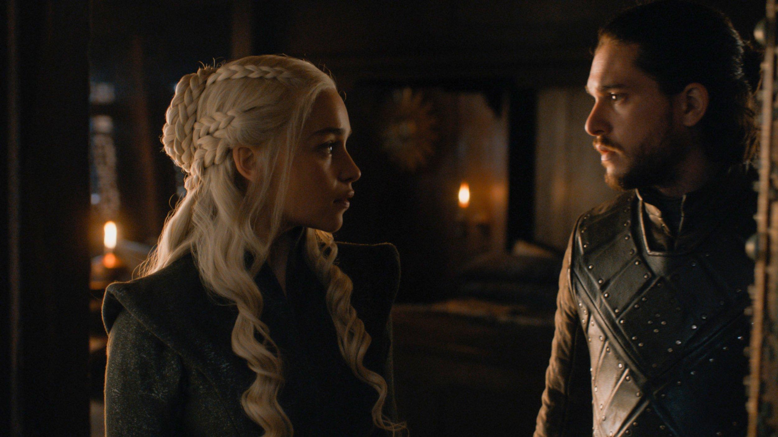 Jon Snow and Daenerys sex scene