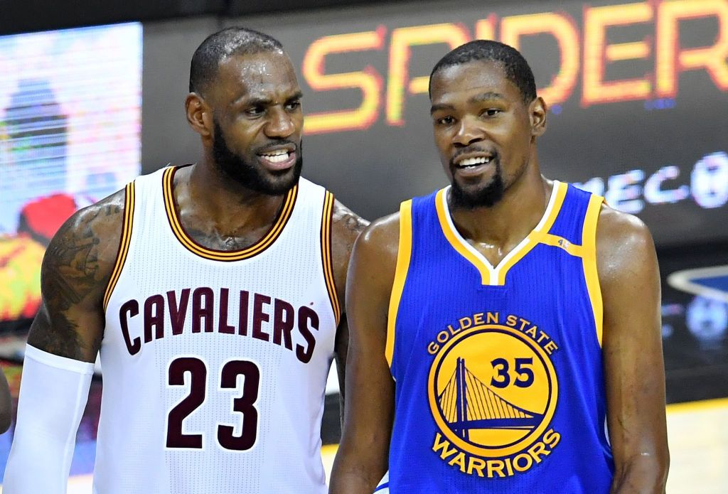 James and Durant