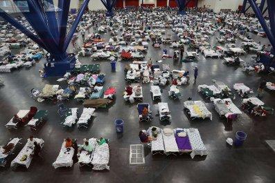 Harvey shelters