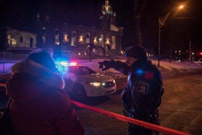 Quebec Shooting
