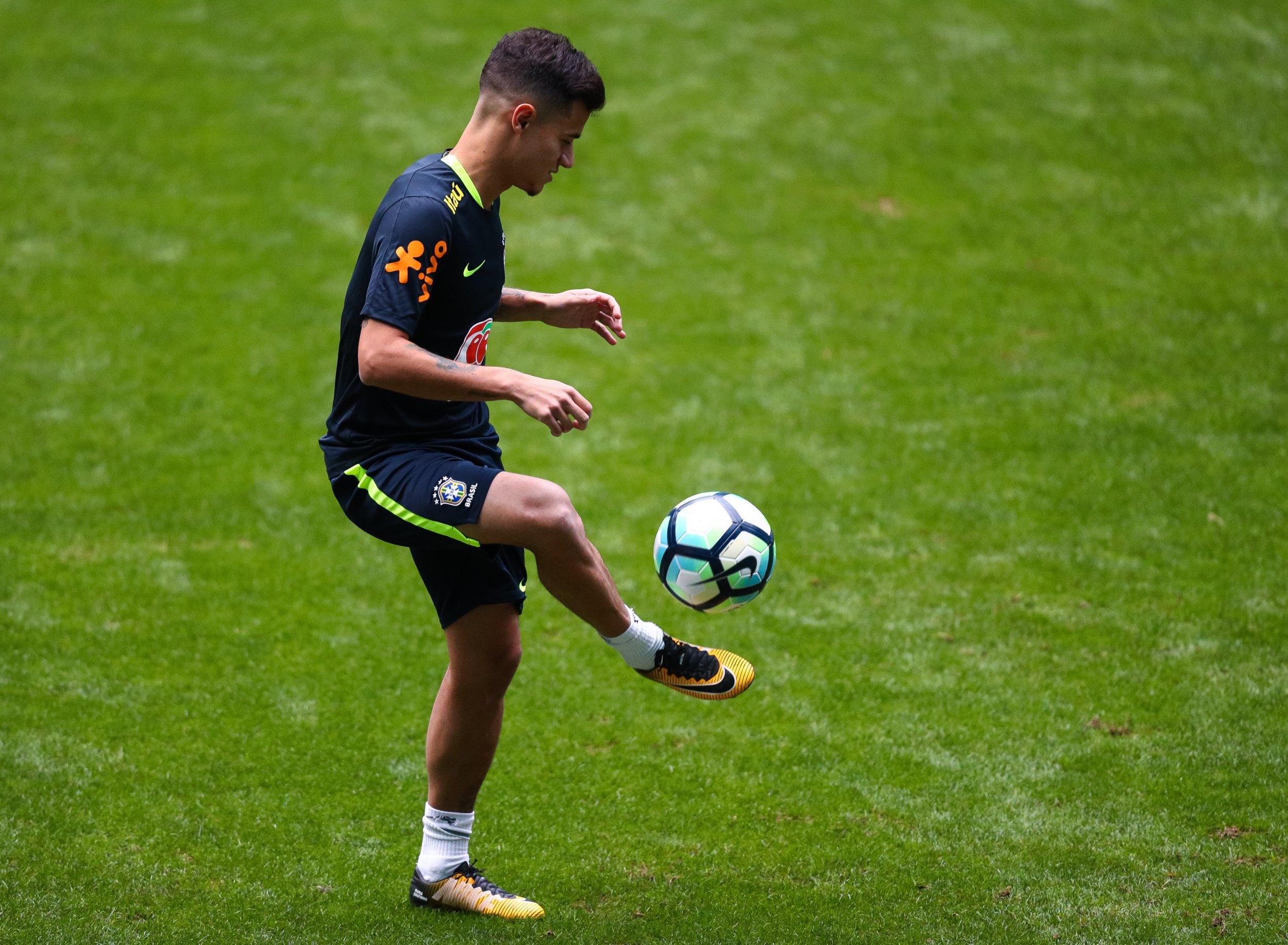 Liverpool midfielder Philippe Coutinho.