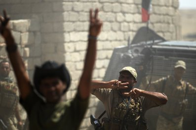 ISIS fighters in Tal Afar