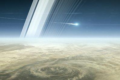 Cassini melt