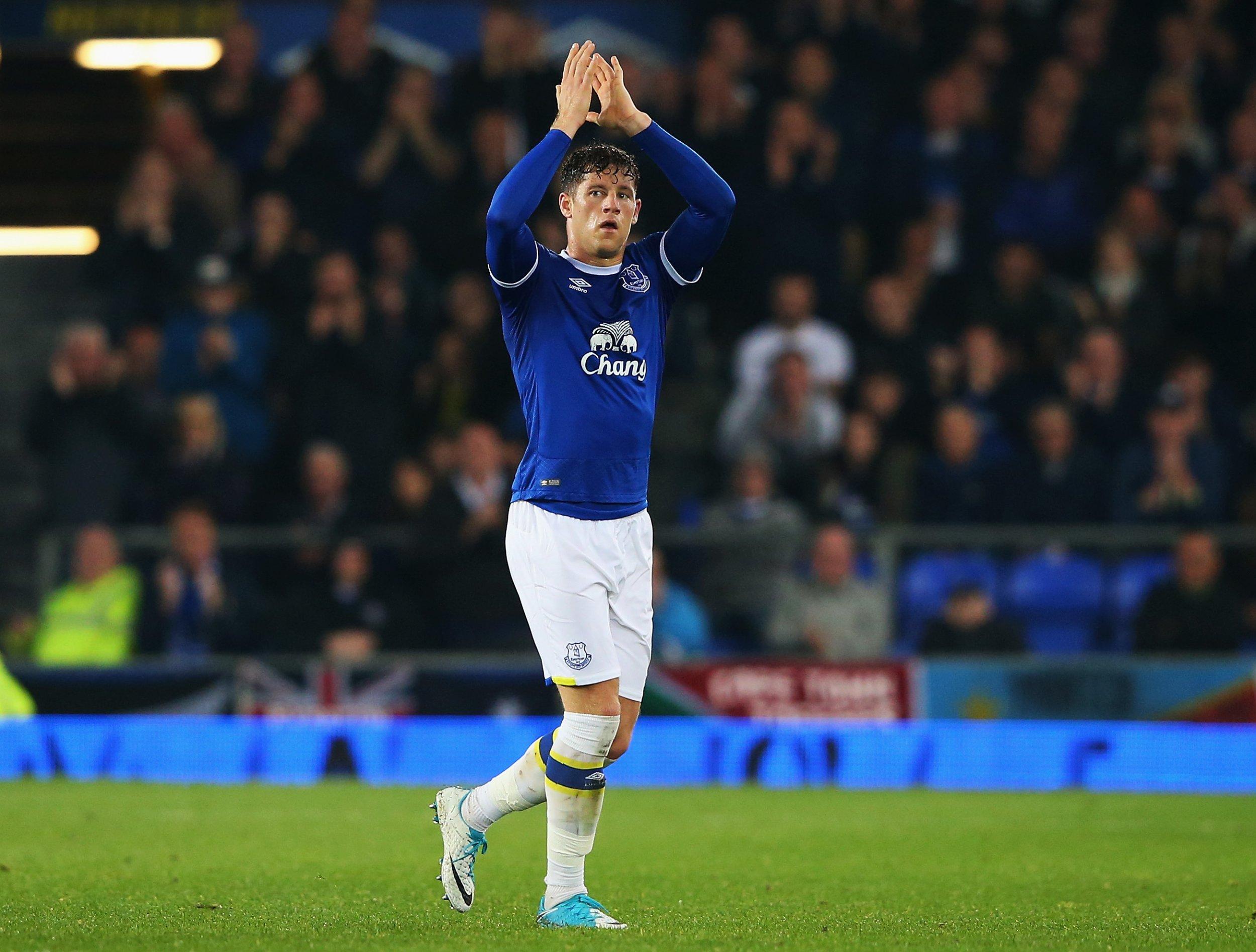Everton midfielder Ross Barkley.