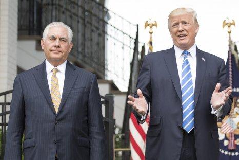 Tillerson, Trump