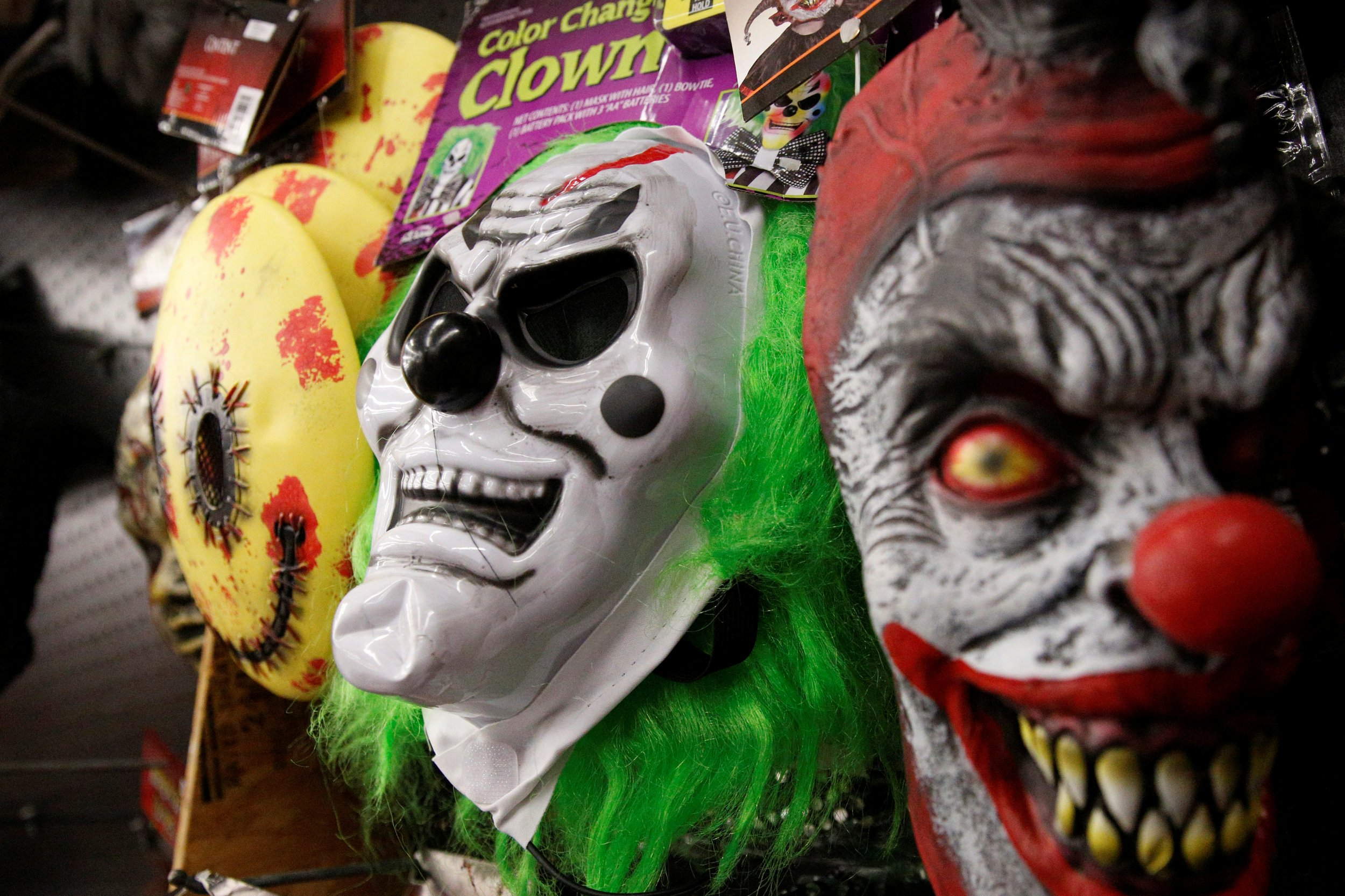 Creepy Clown Sightings Could Return in 2017, Pennsylvania