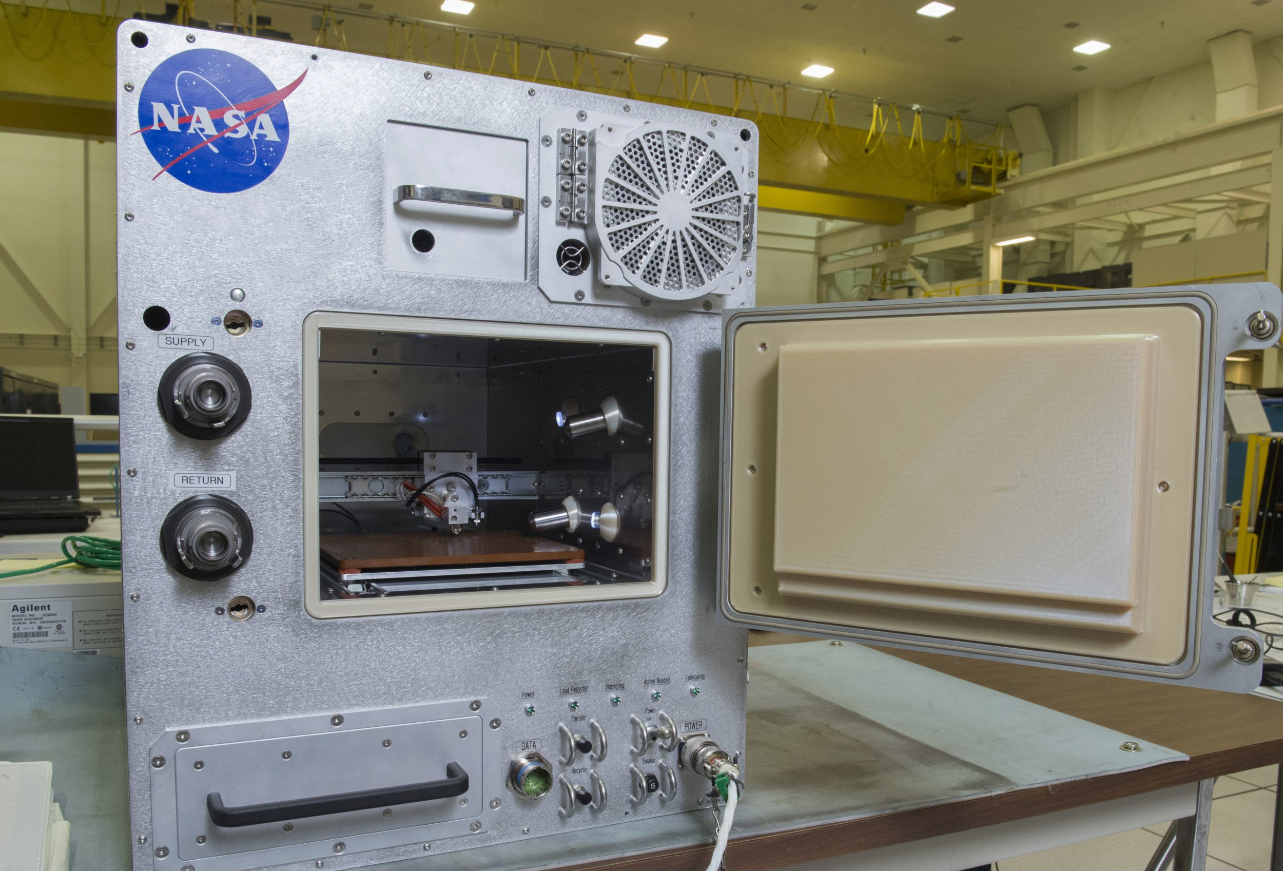 nasa 3d printer refabricator