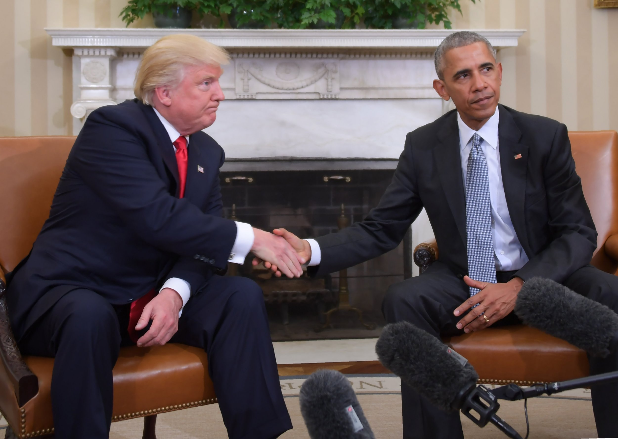 Trump Obama meeting