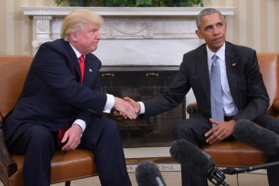 Trump Obama meeting