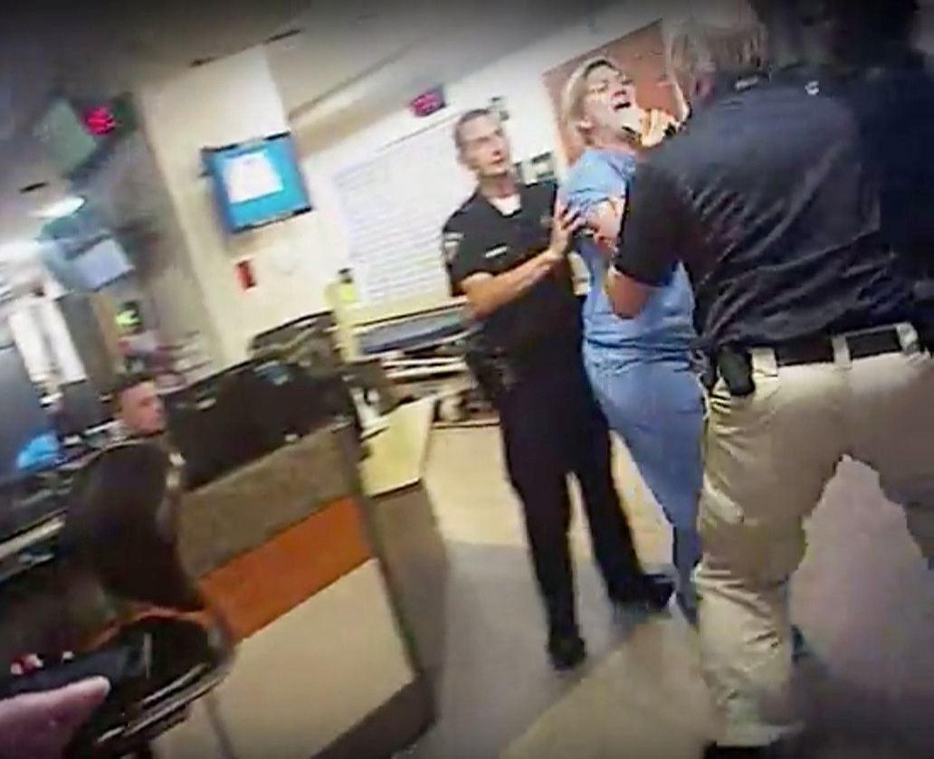 Nurse Arrested Salt Lake City