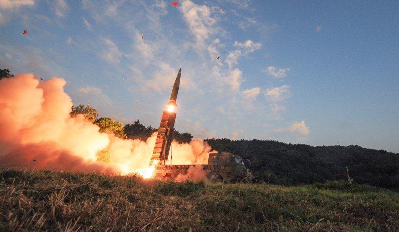 South Korea live-fire drills