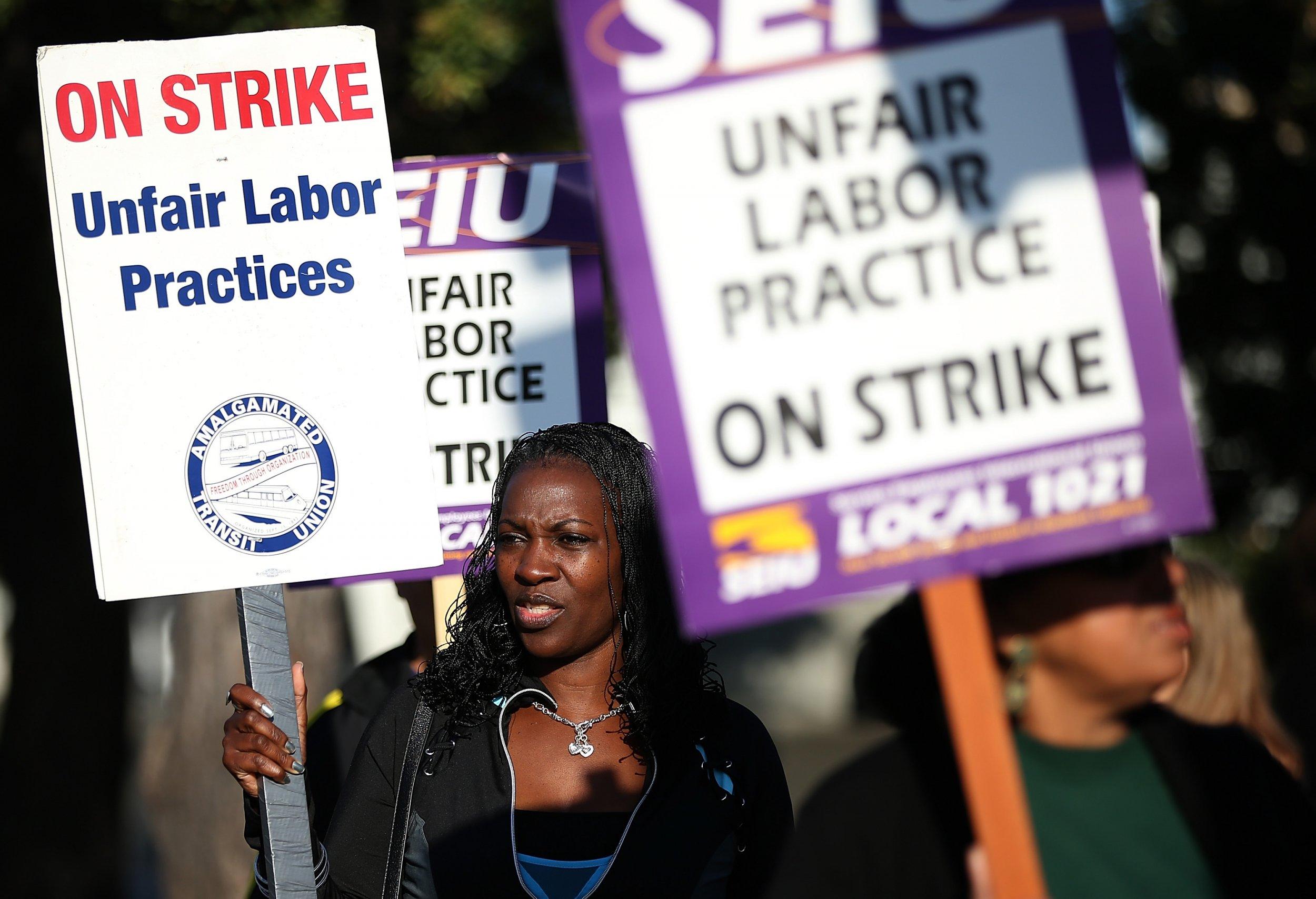 Oakland strike