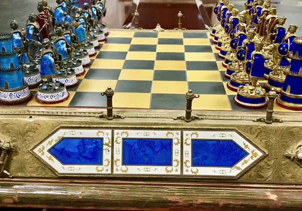 U.S. Returns Antique Chess Set Owned by Saddam Hussein, Stolen During 2003 Invasion