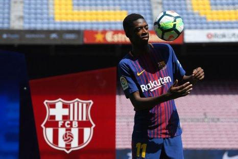 Barcelona winger Ousmane Dembele.