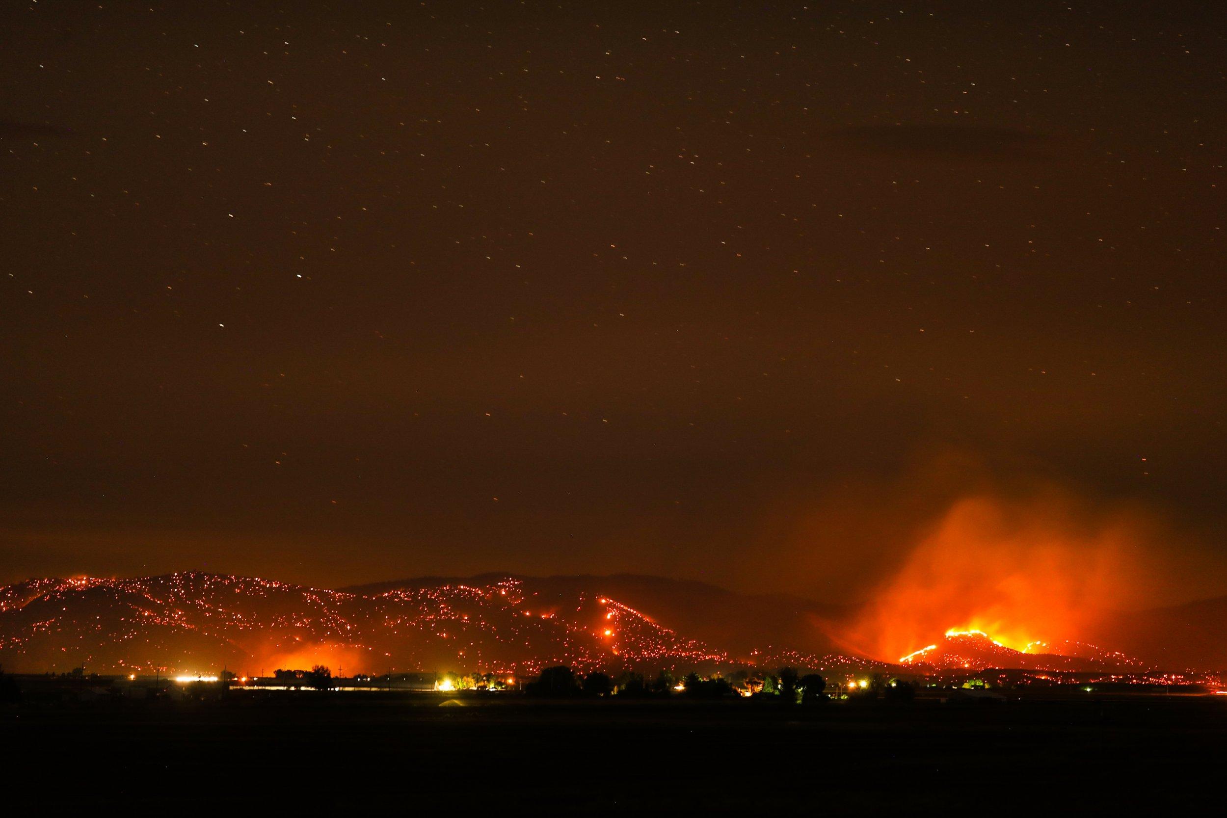 Oregon fire August 18